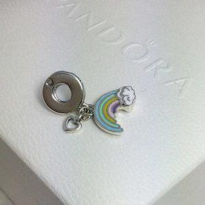 Pandora rainbow dangle charm